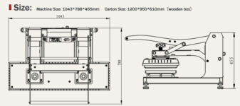 SD-BASIC síkhőprés 100x25